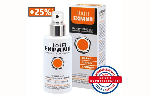 HAIREXPAND® Hair Thickening Spray - Image 1